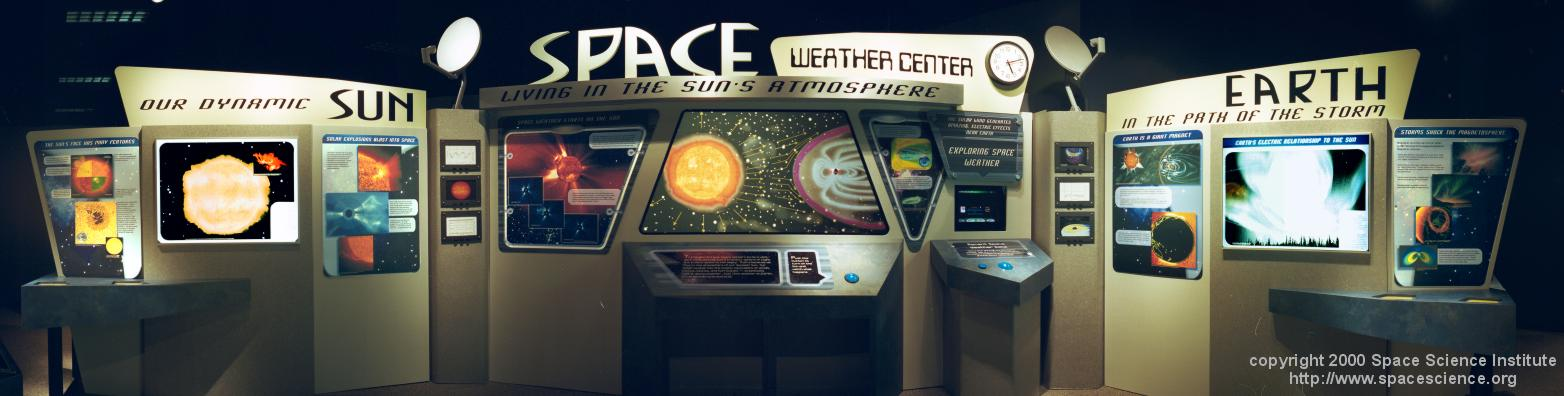 Coming Soon to a Museum Near You -- The Space Weather Center
