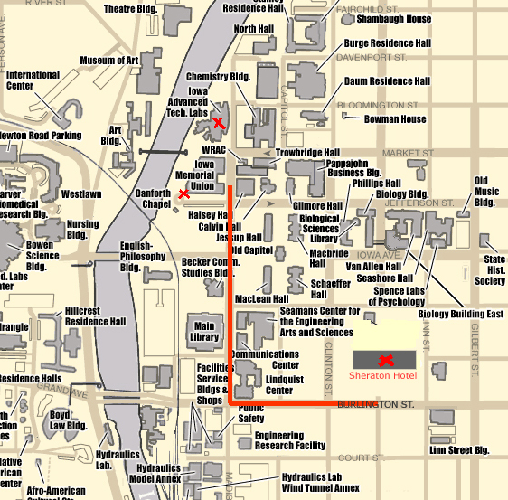 Goddard Campus Map.2003 Polar Science Working Group Meeting